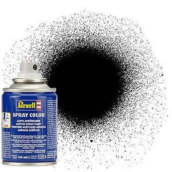 Revell Spray Color : 302 Zwart (zijdemat)
