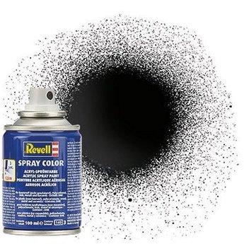 Revell Spray Farbe: 007 Schwarz (glänzend)