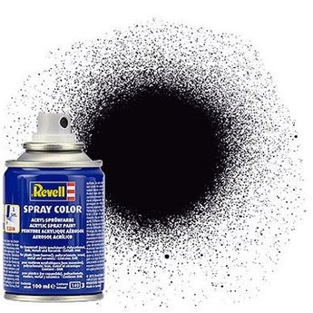 Revell Spray Color : 008 Zwart (mat)