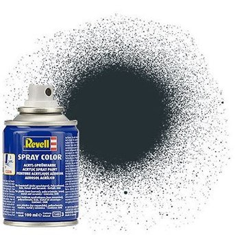 Revell Spray Color: Anthracite 009 (mat)