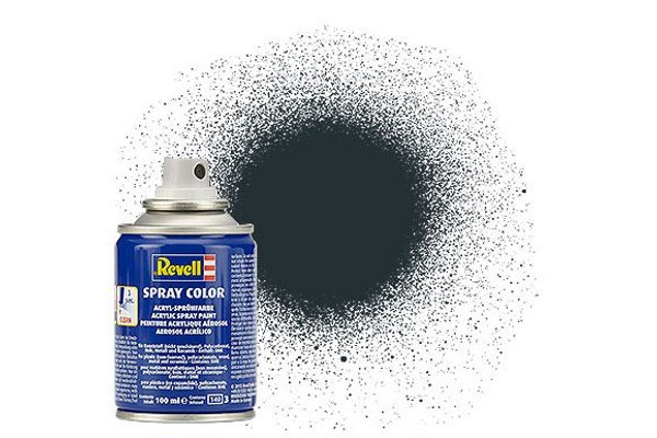 Revell Spray Color : 009 Antraciet (mat)