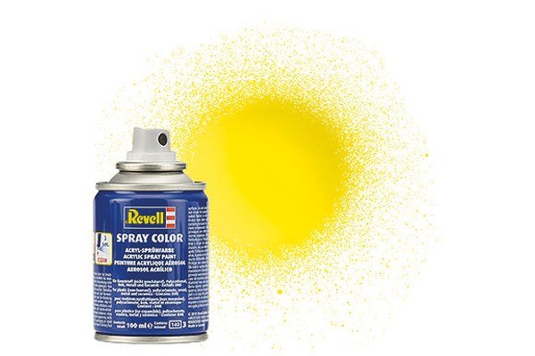 Revell Spray Color: Yellow 012 (glossy)
