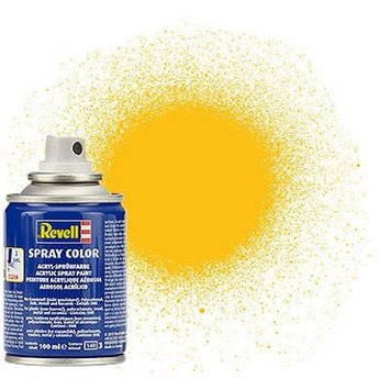Revell Spray Color: 015 Yellow (mat)