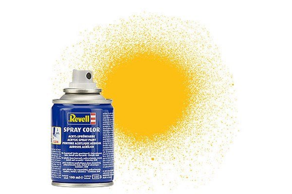 Revell Spray Color : 015 Geel (mat)