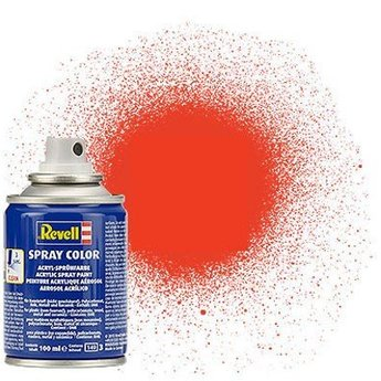 Revell Spray Color : 025 Licht Oranje (mat)