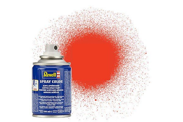 Revell Spray Color : 025 Licht Oranje (mat)