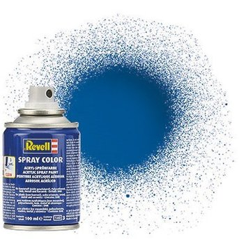 Revell Spray Color : 052 Blauw (glanzend)