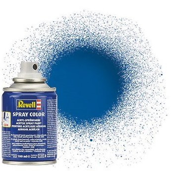 Revell Spray Color: 052 Blue (glossy)