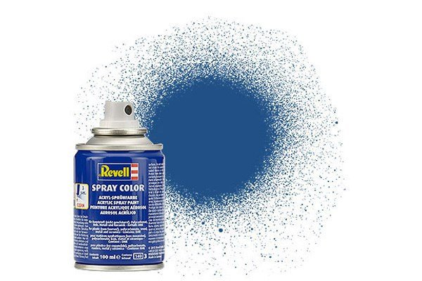 Revell Spray Color: Blue 056 (mat)