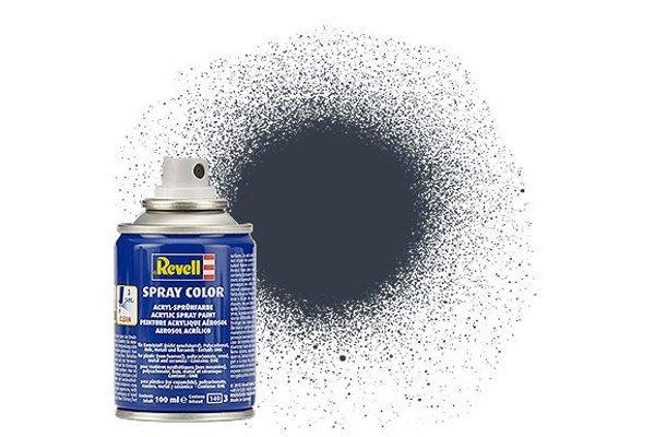 Revell Spray Farbe: 078 Panzer Grey (mat)
