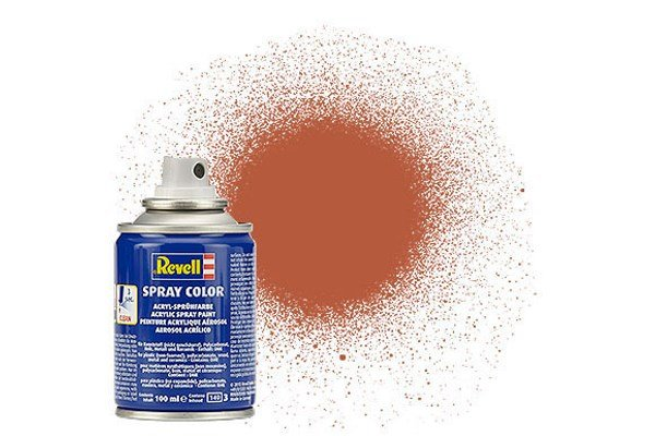 Revell Spray Color: Brown 085 (mat)
