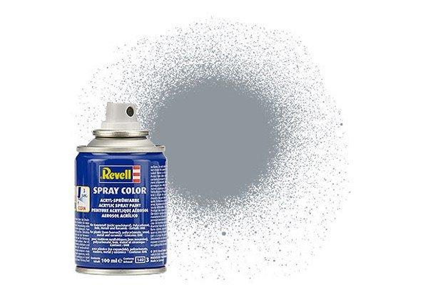 Revell Spray Color: 091 Iron (metallic)