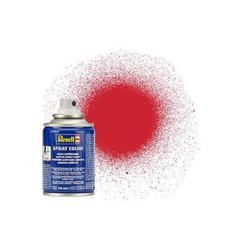 Revell Spray Color : 330 Vuurrood (zijdemat)