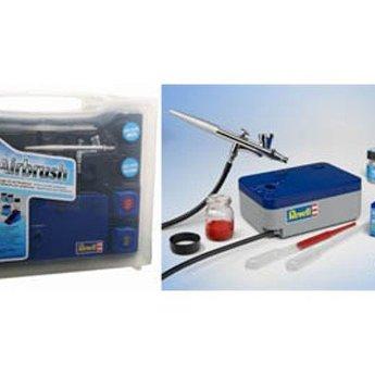 Revell Grund Airbrush Set mit Kompressor