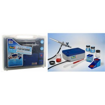 Revell Airbrush Basis set met Compressor