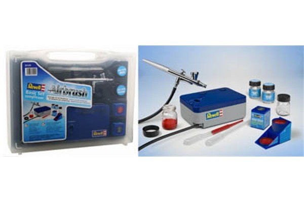 Revell Basic Airbrush Set with Compressor