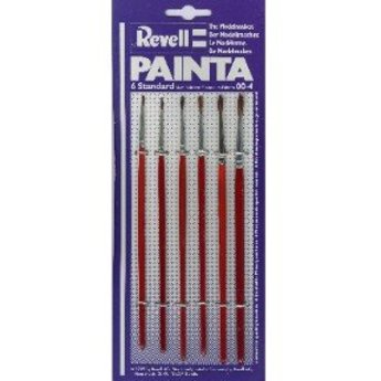 Revell Painta Set 6 Bürsten (00-4)