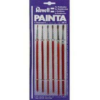 Revell Painta set, 6 penselen (00-4)