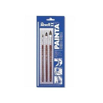 Revell Painta flat brushes set