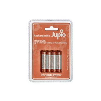 Jupio wiederaufladbare AAA-Batterien (1000mAh)