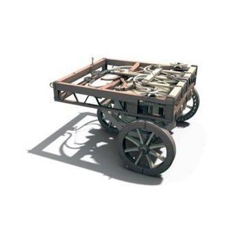 Italeri Self-propelling Cart