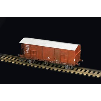 Italeri Güterwagen-F mit Bremserhaus