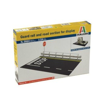 Italeri Guard Rail and Road Section for Display