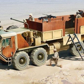 Italeri HEMTT Gun Truck