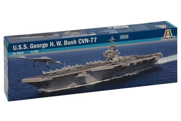 Italeri USS George HW Bush CVN-77