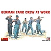 German Tank Crew At Work