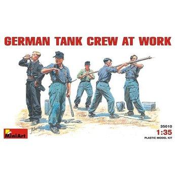Deutsch Tank Crew bei der Arbeit