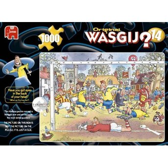Jumbo Original Wasgij? 14: Football madness!