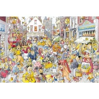 Jumbo Schicksal Wasgij? 10: Chaos im Winkelstraat