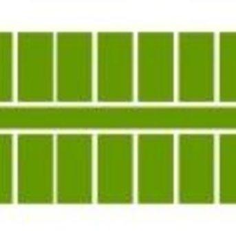 Ministeck 621 - Middel groen