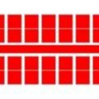 Ministeck 633 - Metallic rood