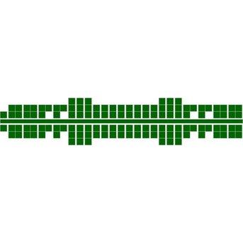 Ministeck 634 - Metallic groen