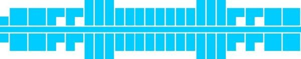 Ministeck 624 - Middel blauw