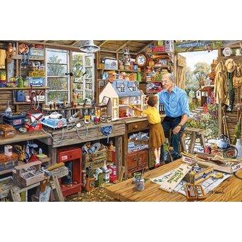 Gibsons Opas Werkstatt