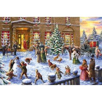 Gibsons Weihnachten in der Halle