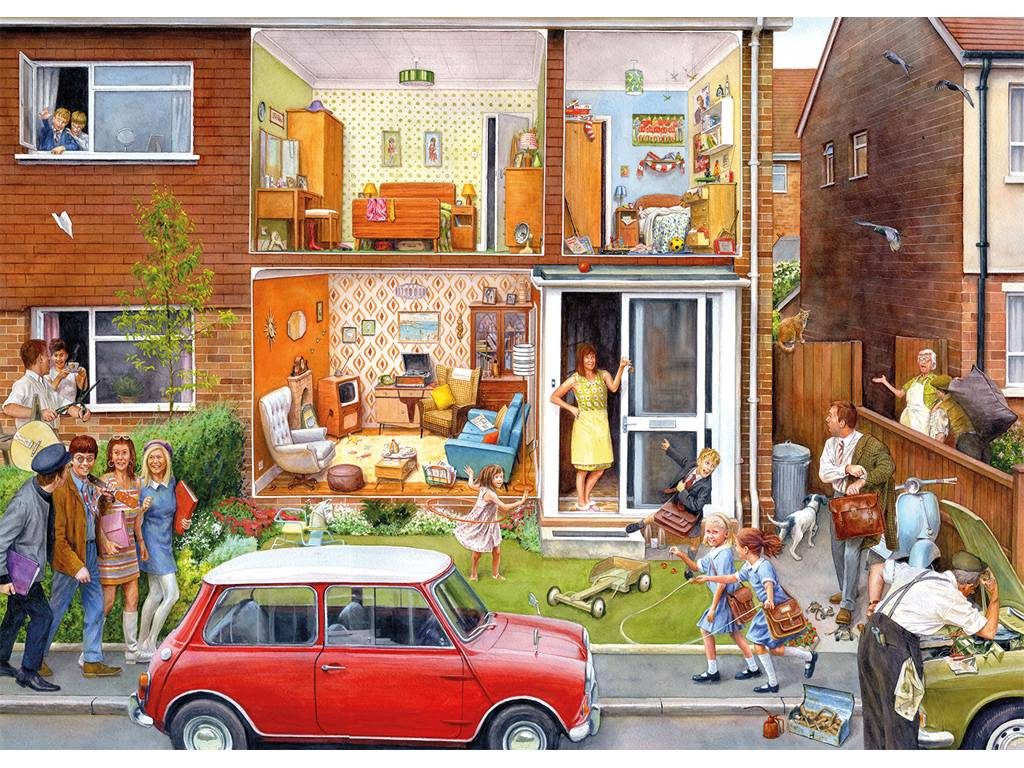 Gibsons Memory Lane - Our House - 1960s