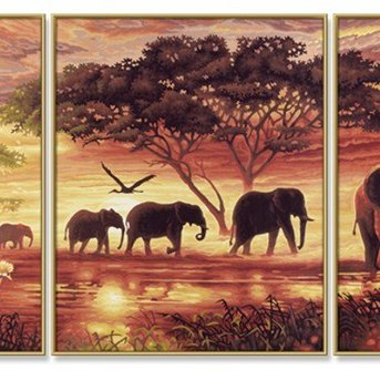 Schipper Afrika - Olifanten Karavaan