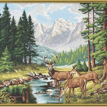 Schipper Vredig Berglandschap