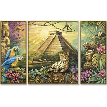 Schipper Mexico - Maya-Piramide