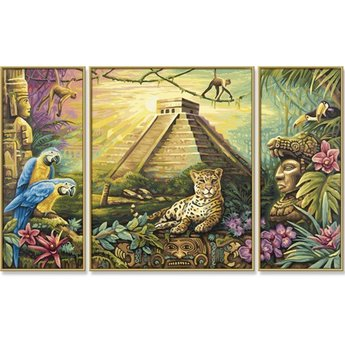 Schipper Mexiko - Mayapyramide