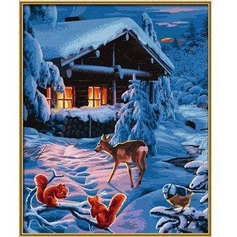 Schipper Romantische Winternacht