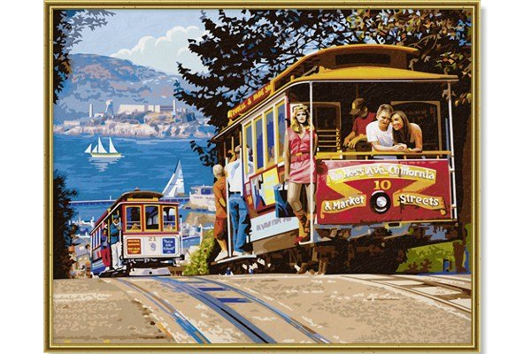 Schipper San Francisco Cable Cars