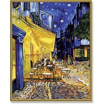 Schipper Cafeterras bij Nacht