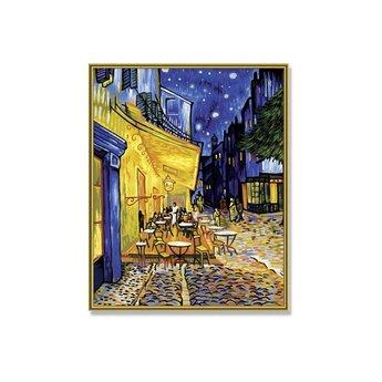 Schipper Caféterrasse bei Nacht
