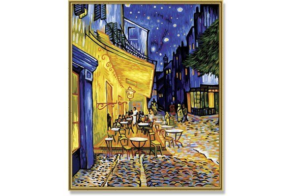 Schipper Cafe Terrace at Night