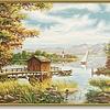Schipper Am Ufer des Sees
